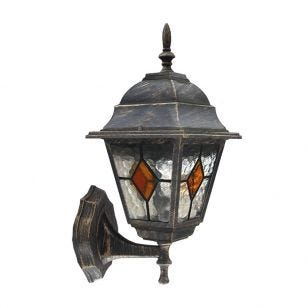 Edit Carlo Outdoor Wall Light - Antique Gold