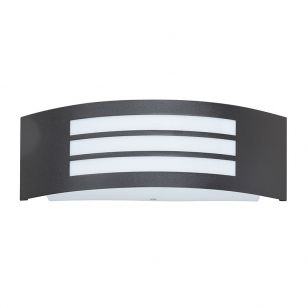 Edit Roma Outdoor Flush Wall Light - Matt Black