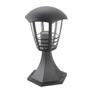 Edit Marseille Outdoor Pedestal Light - Black