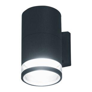 Edit Piller Outdoor Wall Light - Black