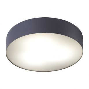 Edit Stadium Flush Ceiling Light - Graphite