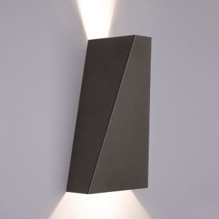 Edit Norway Up & Down Wall Light - Black