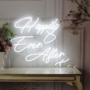 Happily Ever After LED Neon Feature Light