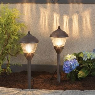 Edit Spruce LED Garden Stake Light Kit - 2 Lights