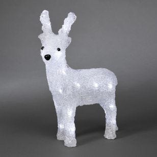 Konstsmide Small Battery Operated LED Reindeer