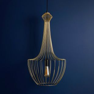 Edit Form Ceiling Pendant Light - Gold