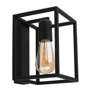 Edit Crate Wall Light - Black