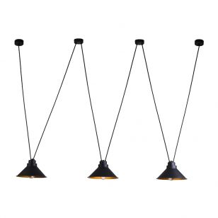 Edit Swing 3L Ceiling Pendant - Black