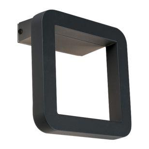 Edit Thika LED Outdoor Wall Light - Black