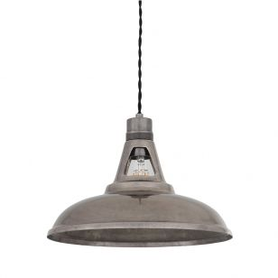 Mullan Geneva Ceiling Pendant Light - Antique Silver