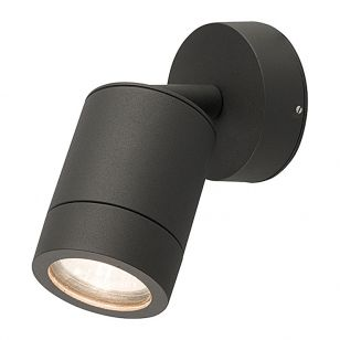 Edit Fallon Outdoor Wall Mounted Spotlight - Black