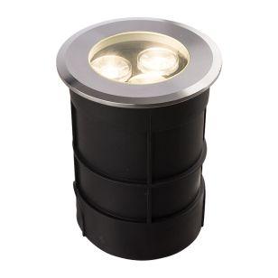 Edit Picco Large LED Ground Light - Silver
