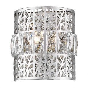 Edit Carlton Flush Wall Light - Crystal