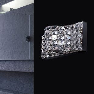Edit Park Flush Wall Light - Crystal