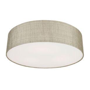 Edit Turda Flush Ceiling Light - Grey