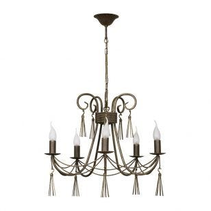 Edit Twine 5 Light Chandelier - Bronze