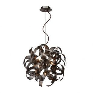 Lucide Atoma Ceiling Pendant Light - Brown