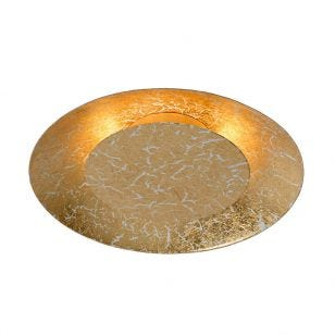 Lucide Foskal LED Flush Ceiling Light - Brass