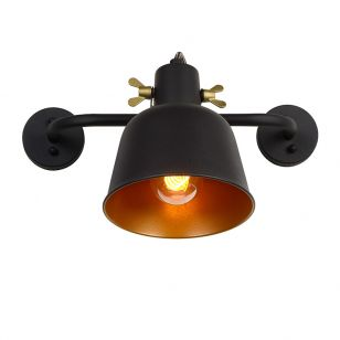 Lucide Pia Wall Spotlight - Black