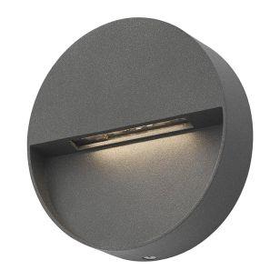 Dar Ugo LED Outdoor Wall Light - Anthracite