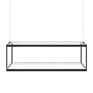 Studio LED Bar Ceiling Pendant Light - Black