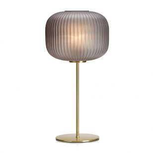Sober Table Lamp - Smoked Glass
