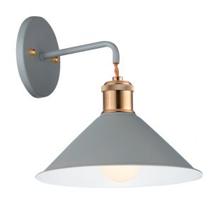 Edit Hastings Wall Light - Grey