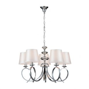 Edit Season 5 Arm Ceiling Pendant Light - Chrome