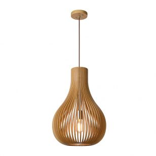Lucide Bodo Ceiling Pendant Light - Light wood