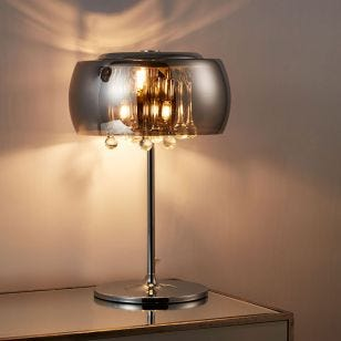 Edit Belgravia Glass Table Lamp - Crystal