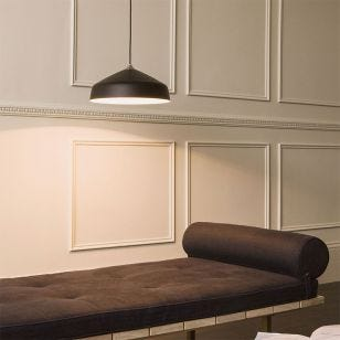 Astro Ginestra 400 Ceiling Pendant Light - Matt Black