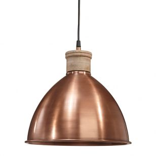 Edit Roseville Ceiling Pendant Light - Copper