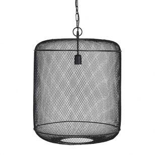 Edit Grid Large Ceiling Pendant Light - Black