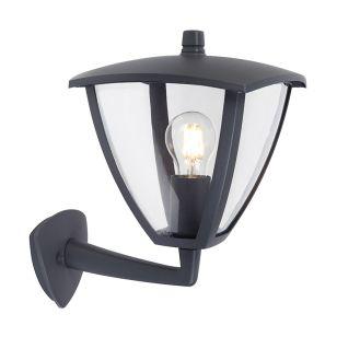 Edit London 6.5W Warm White LED Smart WiFi Outdoor Lantern Wall Light - Black