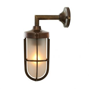 Mullan Cladach Wall Light - Antique Brass