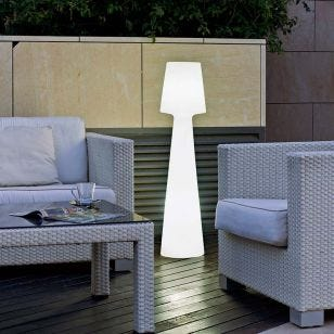 Mushroom 110 LED Outdoor Feature Floor Light