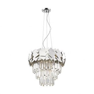 Edit Jazz Chandelier - Silver