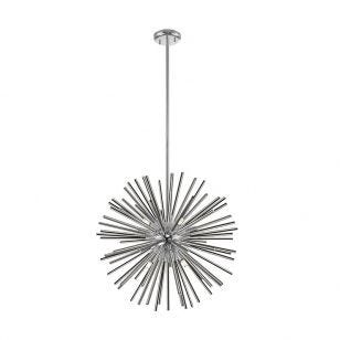Edit Spikey Ceiling Pendant Light - Silver