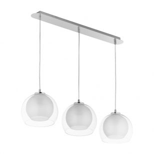 Edit Austell 3 Light Bar Ceiling Pendant - Clear