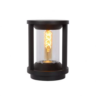 Lucide Cadix Outdoor Pedestal Light - Black