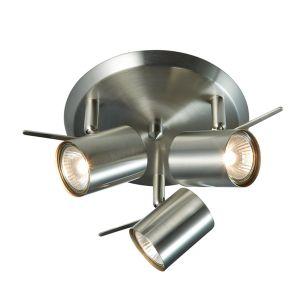 Hyssna 3 Light LED Spotlight Plate - Steel