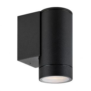 Pipe Outdoor Wall Light - Black