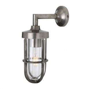 Mullan Cladach Wall Light - Antique Silver