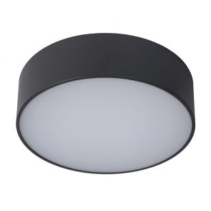 Lucide Roxane LED Round Flush Ceiling Light - Anthracite