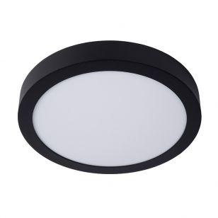 Lucide Brice 30W LED Flush Ceiling Light - Black