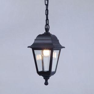 Edit Coastal Sennen Outdoor Pendant Porch Lantern - Black