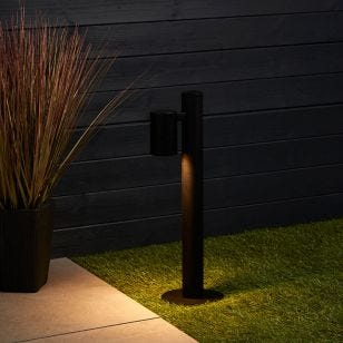 Edit Kirk Outdoor Post Light - Black
