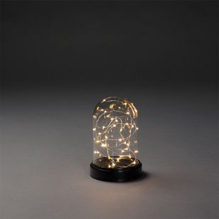 Konstsmide Small Battery Operated LED Bell Jar