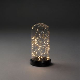 Konstsmide Large Battery Operated LED Bell Jar