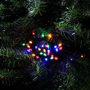 Edit Multi Colour LED Multi-Function String Lights - Green Cable - 240 Lights